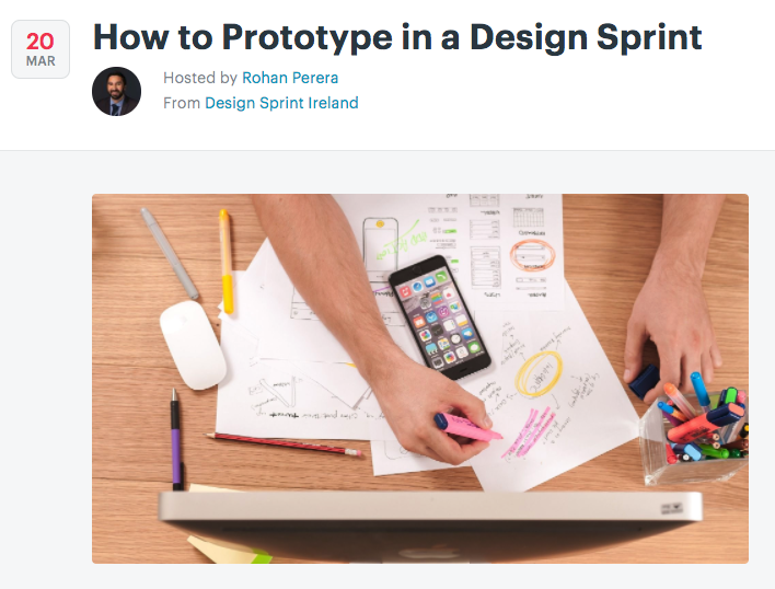 Prototype in a Design Sprint