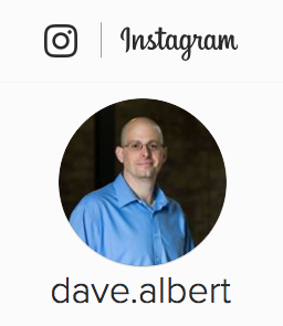 Instagram dave.albert